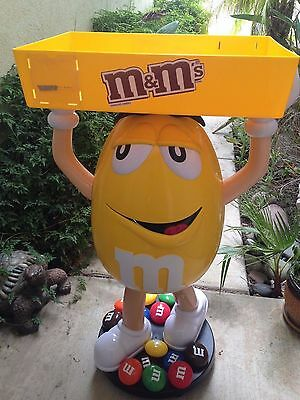 3 Ft M&m Store Display.....yellow With Tray