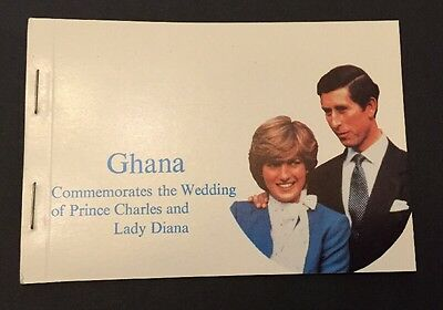 Ghana Stamp Booklet MNH Wedding Of Prince Charles & Lady Diana