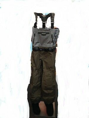 Patagonia Men's Rio Gallegos Breathable Chest Waders - Khaki Grey - Size K/XL