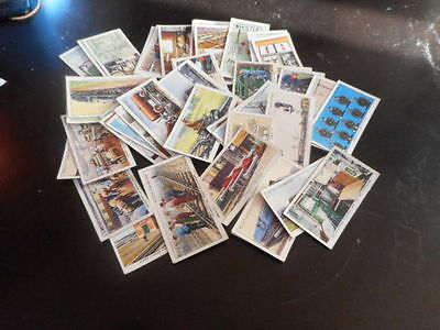 cigarette cards wills 1939 railway equipment 49 of 50