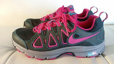 Nike Air Alvord 512038-005 Pink/Gray Running Athletic Sneaker Shoe Women's Sz 8