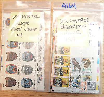 US POSTAGE $105 Mixed 15 Cent Stamps Start at 60% of Face Value 4164