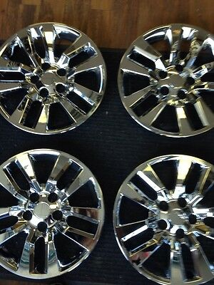"""4-16"""" Nissan Altima 2012 2013 2014 Hub Caps Hubcaps Wheelcovers Chrome"""