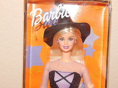 Halloween Glow Special  Edition 2002 Barbie Doll with Hair Extension New