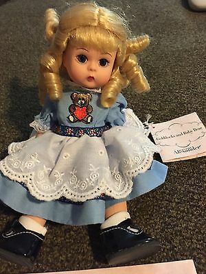 """Collectible doll by Madame Alexander """"Goldilocks"""" 2000 #25965 8"""" tall"""