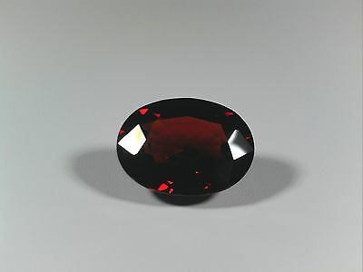 1.57ct 8x6x4mm Burma Red Spinel Cut Faceted Loose Gems Gemstones