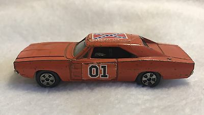 =Vintage 1981 The ERTL Co Replica General Lee Duke of Hazzard Diecast Toy Car