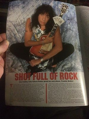 Hot Metal Magazine Issue 12 Ace Frehley Metallica