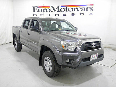 2013 Toyota Tacoma 2WD Double Cab V6 Automatic PreRunner 2013 tacoma double cab prerunner grey 2014 leather v6 15 pickup truck gray used