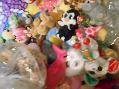 """Variety Of Ty Beanie Boos 6"""" And 9"""" With Damaged Heart Tags Or Missing Tag 2"""