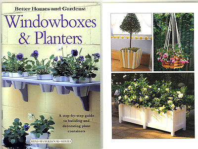 Diy Woodworking Book - Make Window Boxes & Planters