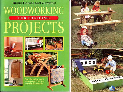 Woodwork Book - Kids Picnic Table, Sandpit, Quilt Stand