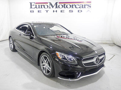 2016 Mercedes-Benz S-Class 2dr Coupe S 550 4MATIC mercedes benz factory certified s550 coupe 2dr s class S 550 4MATIC awd mb black