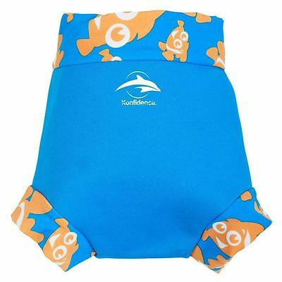 Neo Nappy Konfidence Clownfish Design Baby Swimming Costume/Swim Nappy Brand New