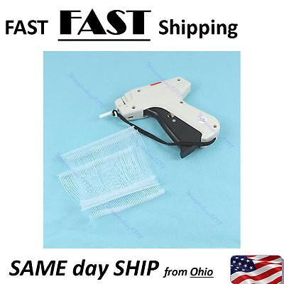 "Clothes Regular Garment Price Label Tagging Tag Gun 3"" 1000 Barbs + 1 Needle"