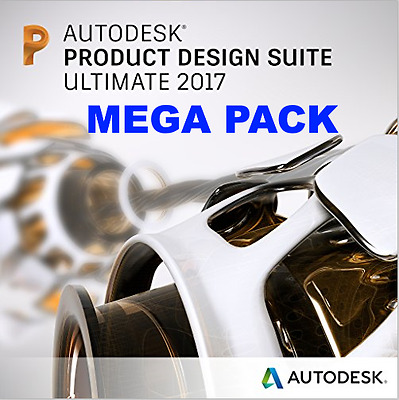 AUTODESK | MEGA PACK | Product Design Suite Ultimate 2017 | 3 Years license
