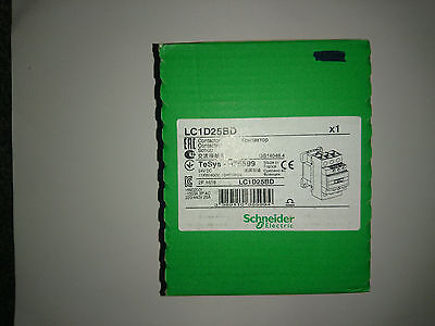 Lc1D25Bd Schneider Electric Contactor Tesys 035599