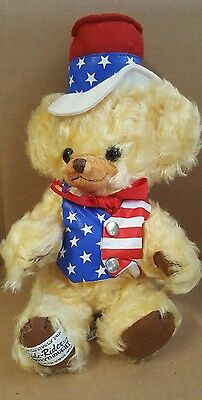 Merrythought Cheecky Stars and stripes teddy bear