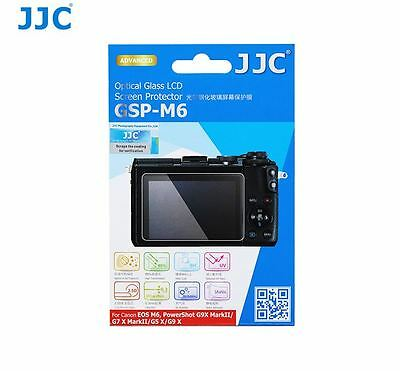 JJC GSP-M6 Glass LCD Screen Protector for Canon EOS M6, G5X, G7X II, G9X, G9X II