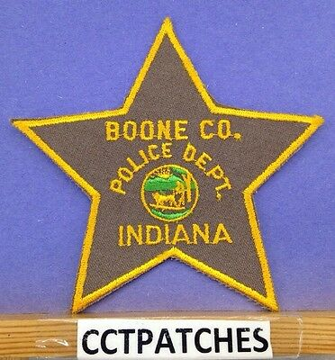 Boone County, Indiana Sheriff Police Shoulder Patch In