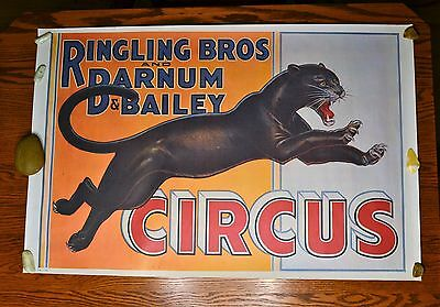 Vintage Circus Posters Ringling Bros. and Barnum & Bailey (Total of 6)