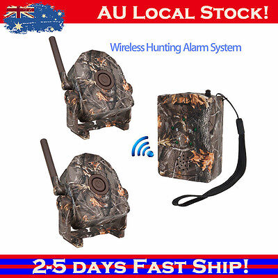 Wireless Outdoor Wildlife Alert Chime Motion Sensor Home Alarm Security SYDNEY!