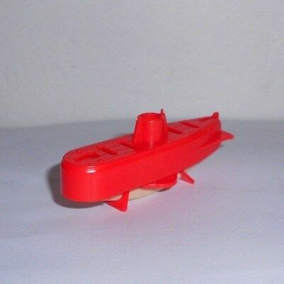 1960s Cereal Box Gift Toy Submarine Surfaces with Baking Soda RB Toys