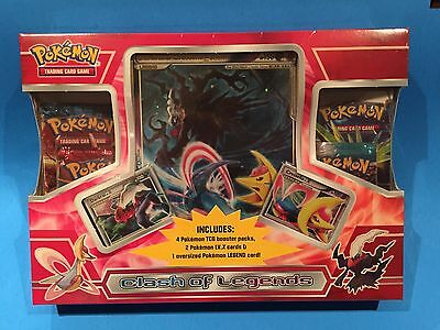 ( Clash of Legends Darkrai & Cresselia Box ) Legend LV.X - Sealed New - Pokemon