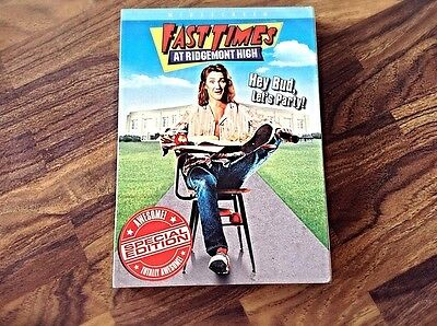 Fast Times At Ridgemont High (Dvd, 2004) Special Edition (Widescreen)