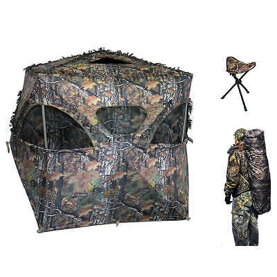 ALTAN Safe Outdoors The Den Hunting Blind Camo Hunting Tent Deer Outdoors Hide