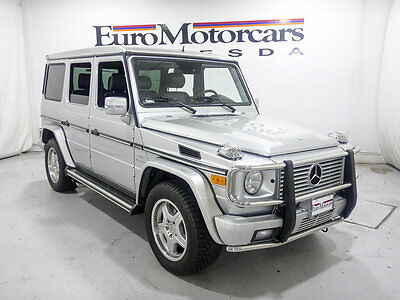 2005 Mercedes-Benz G-Class G55 AMG 2006 mercedes benz g55 amg G-Class g 55 silver 07 g63 financing suv g 63 used mb
