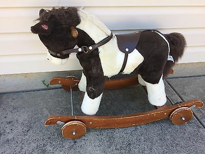 Rocking & Rolling Horse W/ Sound Effects