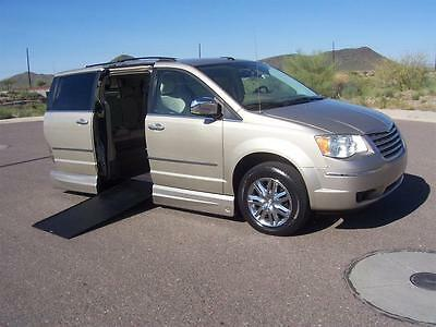 2009 Chrysler Town & Country Limited 2009 Chrysler Town & Country Limited Handicap Wheelchair Mobility VMI Van