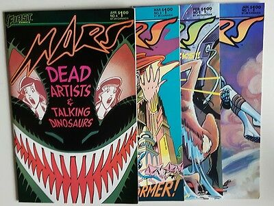 Mars Lot #1-4  NM   1984 First Comics  All 4 issues are NM
