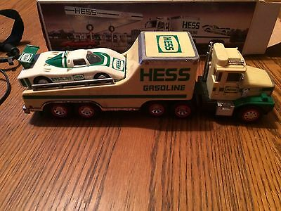 HESS 1988 Toy Truck & Racer with Original Box