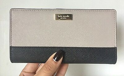 Kate Spade New York Stacy Laurel Way Leather Wallet WLRU2674 New With Tags