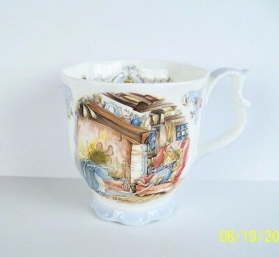 Royal  Doulton WINTER BEAKER MUG Brambly Hedge Gift Collection, Superb