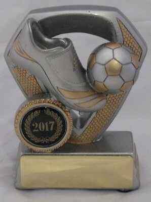Soccer Boot Ball Trophy 100mm  Engraved FREE