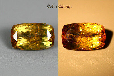 1.670 Ct  Earth Mined Unique Dazzling 100% Natural Dancing' Color Change Axinite