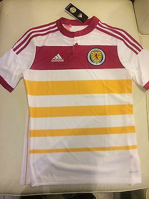 Scotland Soccer Jersey 2014 New Adidas With Tags Xl