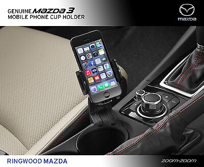 New Genuine Mazda 3 BM Mobile Phone Cup Holder Accessory Part BM11ACCUP