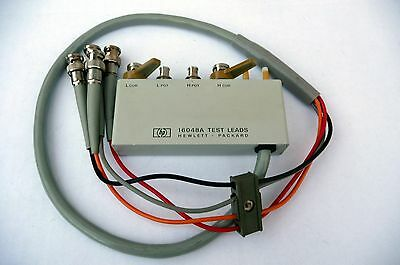 HP 16048A   lead set for use with 4284a etc.