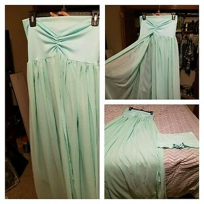 Mint Green Maternity Gown