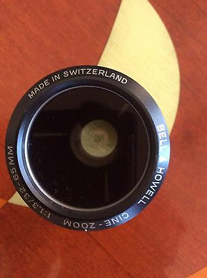 "BELL & HOWELL 16mm CINE-ZOOM Projector Lens 2"", 1:1.3 / 32-65mm"