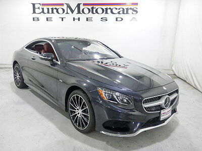 2015 Mercedes-Benz S-Class 2dr Coupe S 550 4MATIC mercedes benz certified s550 coupe red leather 2dr s class S 550 4MATIC cpo used