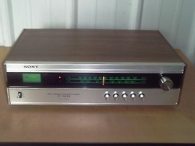 SONY ST-5055 FM Stereo/FM-AM Tuner - Vintage