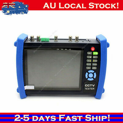 "7""CCTV Camera HD Monitor Video Tester VGA+HD-SDI In/Out+TDR Test HVT-3600ST bjs"