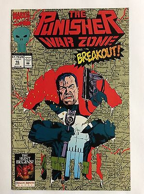 The Punisher, War Zone #16 (Marvel Comics) June 1993