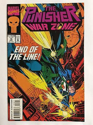 The Punisher, War Zone #18 (Marvel Comics) Aug. 1993