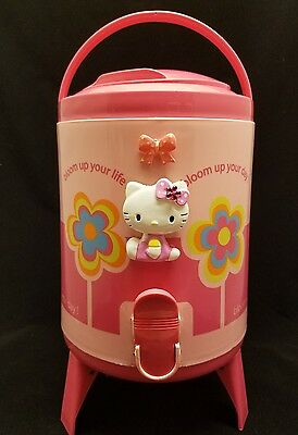 New Hello Kitty Water 4 Lt Dispenser Cooler Park Picnic Pink Minor defects